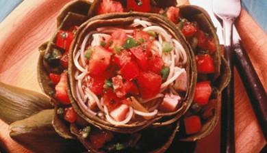 Patio Artichoke Supper