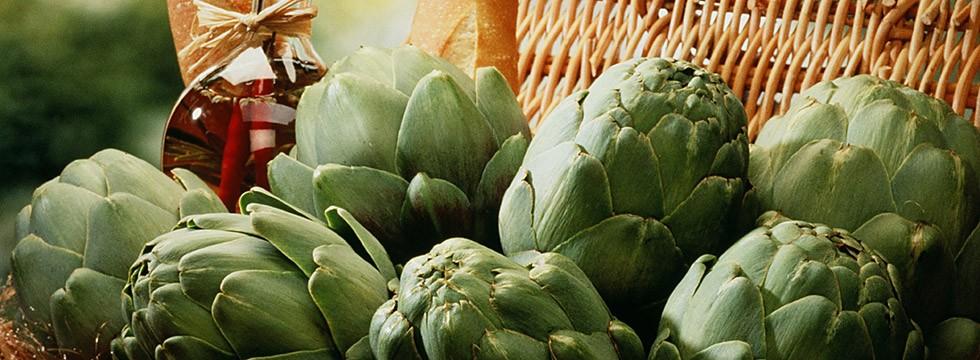 Grocer's artichokes